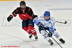 Cortina U19-Selezione studentesca canadese