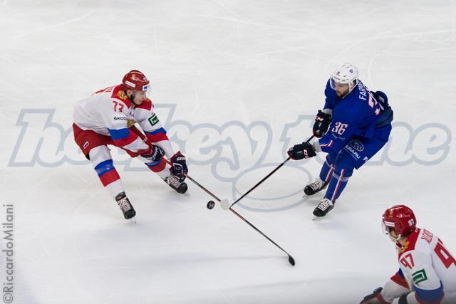 FRA - SPORT - HOCKEY - FRA RUSSIE