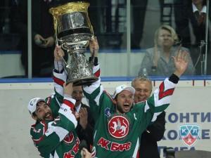 con Zaripov e Morozov l'Ak Bars Kazan è campione di Russia