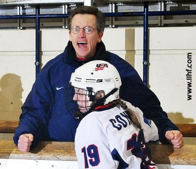 Mark Johnson, coach degli Stati Uniti femminile