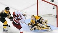 Carolina Hurricanes-Boston Bruins 3-2 1stOT (1-1;1-0;0-1;1-0) Gli Hurricanes vincono la Serie 4-3 I Tifosi di Boston cadono nello sconforto, la rete di Walker (Whitney-Seidenberg) fa partire i titoli di coda […]