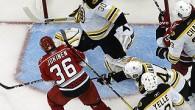 Boston Bruins Carolina Hurricanes 2-3 1stOT (1-0;0-2;1-0;0-1) Hurricanes in vantaggio 2-1 nella Serie Il pubblico del RBC Center ritrova la sua squadra, e la situazione attuale che vede in parità […]