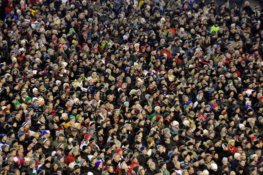 Folla all'Ullevi di Göteborg. Foto da frolundaindians.com