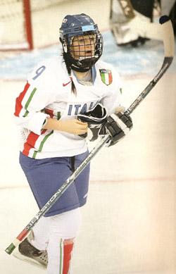 Valentina Bettatini in maglia azzurra