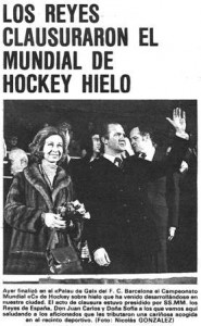 Re Juan Carlos e la Regina Sofia - Foto tratta da El Mundo Deportivo
