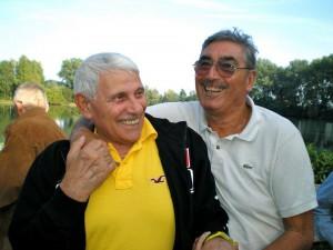 Franco Viale e Renato Brivio, compagni di innumerevoli battaglie