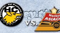 HC Val Pusteria Lupi – Asiago Hockey 1935 3-4 (1-2, 2-1, 0-1) Leitner Solar Arena di Brunico – ore 20:30 Il match clou della serata era indubbiamente quello in programma […]