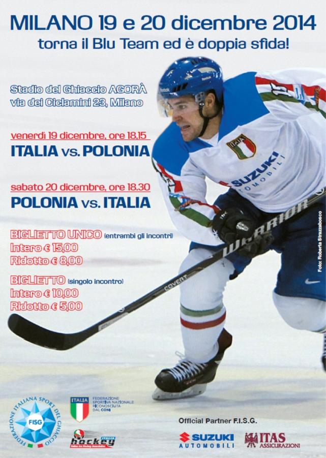 Locandina Italia-Polonia (19-20dic2014)