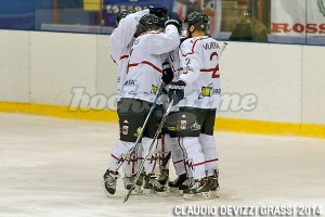 Hockey Milano Rossoblu - Rittner Buam