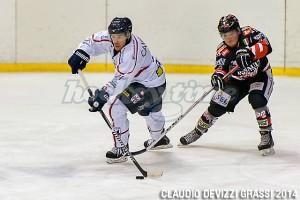 Hockey Milano Rossoblu - Rittner Buam Campanale Felicetti