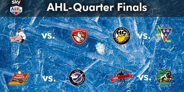 (Comun. stampa AHL) –I Rittner Buam, con il primo diritto di scelta, hanno selezionato l'HC Egna Riwega come avversario ai quarti. L'HC Val Pusteria, il secondo team del Master Round, […]