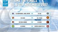 Sono stati sorteggiati gli accoppiamenti dei quarti di finale che avranno luogo il 21 e il 22 novembre. Rapperwil Jona e Ajoie, uniche formazioni di Swiss League sopravvissute alle forche […]