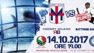 (da hockeymilano.it) –Si avvicina il giorno della SuperCoppa Italiana! Il 14 ottobre sul ghiaccio dell'Agorà i ragazzi di coach Da Rin vincitori della Coppa Italia 2016/2017 incontrano i campioni d'Italia […]