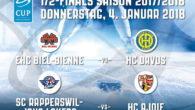 Alla finale di Coppa Svizzera del prossimo 4 febbraio sicuramente prenderà parte una formazione di Swiss League, ex LNB. E' quanto ha stabilito il sorteggio con il quale sono stati […]