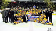 La Migross Asiago si laurea campione dell´Alps Hockey League imponendosi nella settima gara della finale playoff sui Rittner Buam per 7:5. Gli stellati in uno stadio esaurito in ogni ordine […]