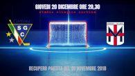 (Comun. stampa SG Cortina) – La partita traHafro Cortina HockeyeHockey Milano Rossobluprevista da calendario per il giorno 01/11/2018 allo Stadio Olimpico di Cortina e annullata per criticità meteo, sarà recuperata […]