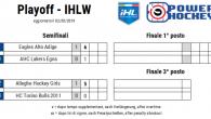 (Comun. stampa FISG) –Nessuna sorpresa per l'inizio dei playoff della IHL – Women. Nella prima gara di semifinale playoff si registrano due successi esterni. Ad Egna le Eagles Alto Adige […]