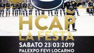 (Comun. stampa HC Ambrì Piotta) –L'Hockey Club Ambrì-Piotta ha il piacere di annunciare ai propri tifosi che sabato 23 marzo 2019 a partire dalle ore 19.00 presso il PalaExpo Fevi […]