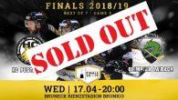 Il Val Pusteria ha a disposizione il primo match point per conquistare il suo primo titolo di Alps Hockey League; la risposta dei tifosi gialloneri non si è fatta attendere, […]