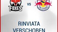 Il match previsto per martedì 27 ottobre 2020 tra HCB Alto Adige Alperia ed EC Red Bull Salzburg è stato rinviato per ragioni sanitarie, come misura di sicurezza preventiva. Una […]