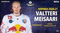 I due finlandesi Valtteri Meisaari e Aatu Luusuaniemi hanno lasciato i Red Bull Hockey Juniors. Il difensore Meisaari (nella foto di copertina), che nelle ultime due stagioni ha giocato 87 […]