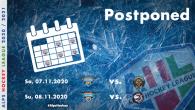A causa di misure mediche precauzionali riguardanti Covid-19, due partite del fine settimana con la partecipazione degli Steel Wings Linz sono state rinviate a tempo indeterminato. Le nuove date delle […]