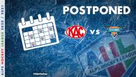 Riguardo alle misure mediche precauzionali, riguardanti il Covid-19, la partita tra l'EC-KAC II contro gli Steel Wings Linz, originariamente prevista per giovedì 10 dicembre, sarà rinviata a data da destinarsi. […]