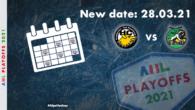 La partita tra l'HC Pustertal Wölfe e l'EHC Lustenau, originariamente prevista per sabato 27 marzo, è stata posticipata a causa di misure mediche precauzionali a domenica 28 marzo. La partita […]