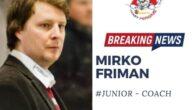 Quarantacinque anni, originario di Jyvaskyla, nella Finlandia centrale, Mirko Friman è allenatore professionista dal 2011. Dopo la carriera da giocatore, in patria, Germania e Belgio, ha maturato buona esperienza lavorando […]