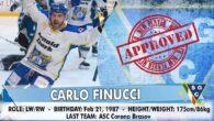E' CARLO FINUCCI, Italo/Canadese di 34 anni l' ala che l' Hafro Cortina ha messo sotto contratto per finalizzare a rete quanti più dischi possibile. Una carriera cominciata nelle giovanili […]