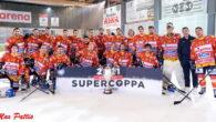 La Supercoppa 2021, primo trofeo in palio della stagione 2021/22, se lo aggiudica l'Asiago battendo alla Würth Arena di Egna l'Unterland 4-1. L'ampio divario tecnico tra le due squadre non […]